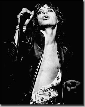Dette bildet var med på å definere stilen til Mick Jagger!