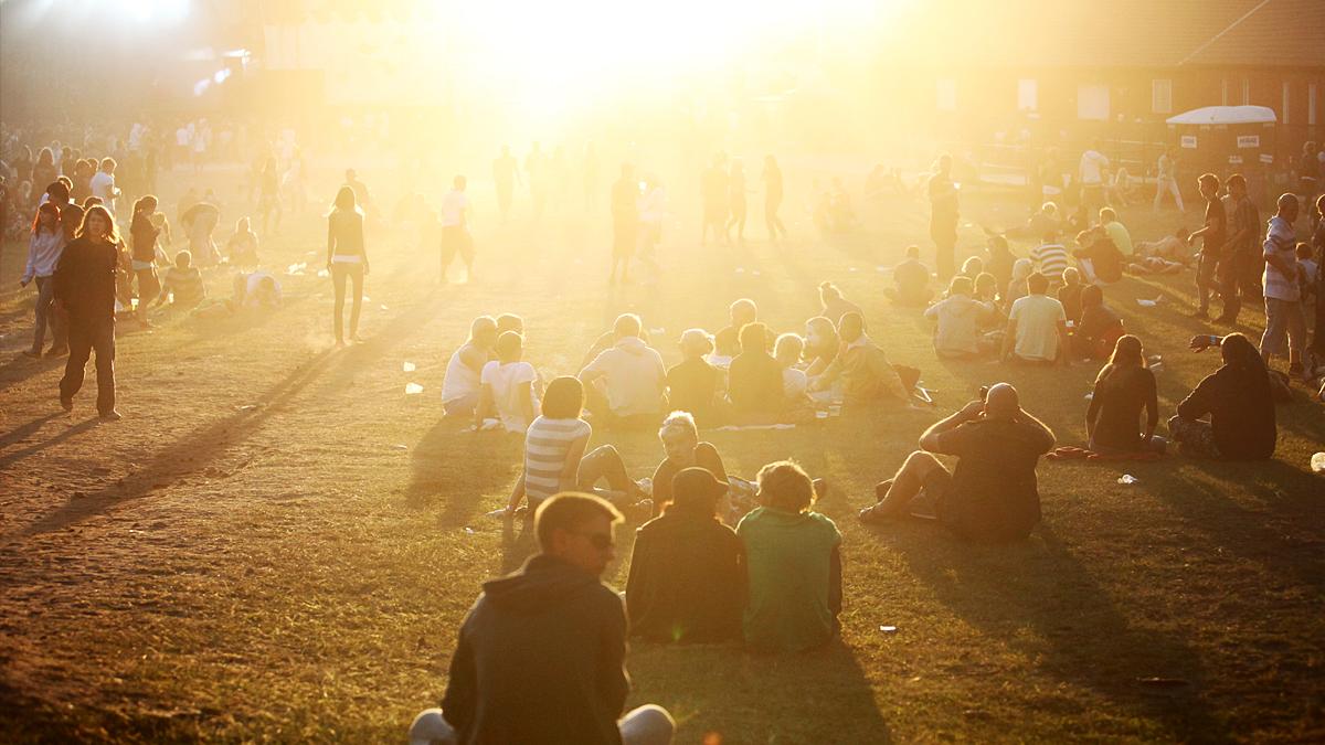 Bilder fra Hovefestivalen 09