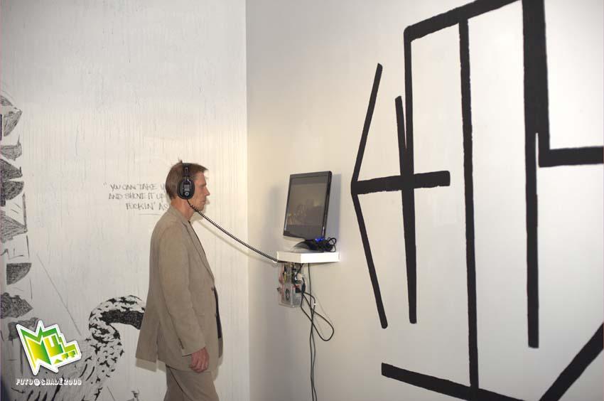 audiovisuell kunst av evan roth