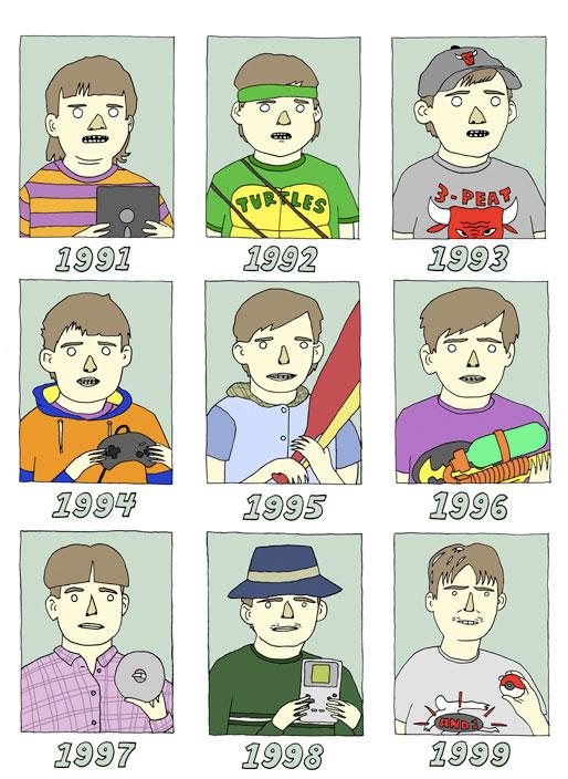 90's av Trevor Burks