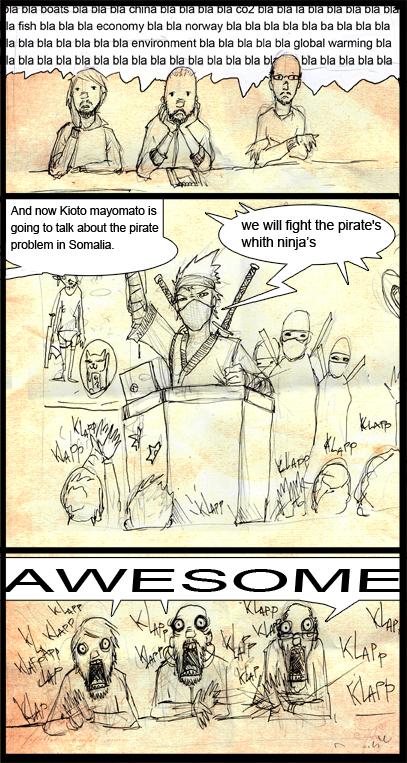 Blogg i tegneserieformat