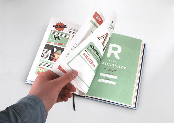 Hyperaktiv typografi fra A til Z