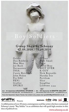 Boy Soilders by Schoony