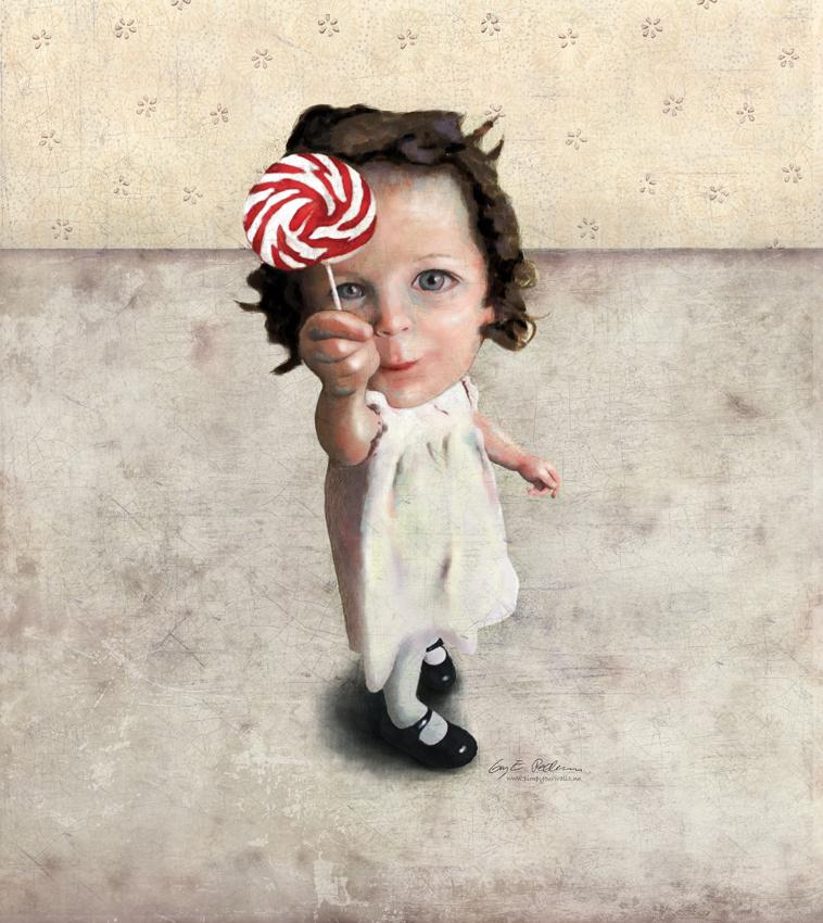 """Utstilling: """"Children"""" av Gry E. Pedersen"""
