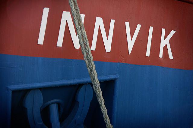 Siste 10 dager av MS Innvik i Oslo