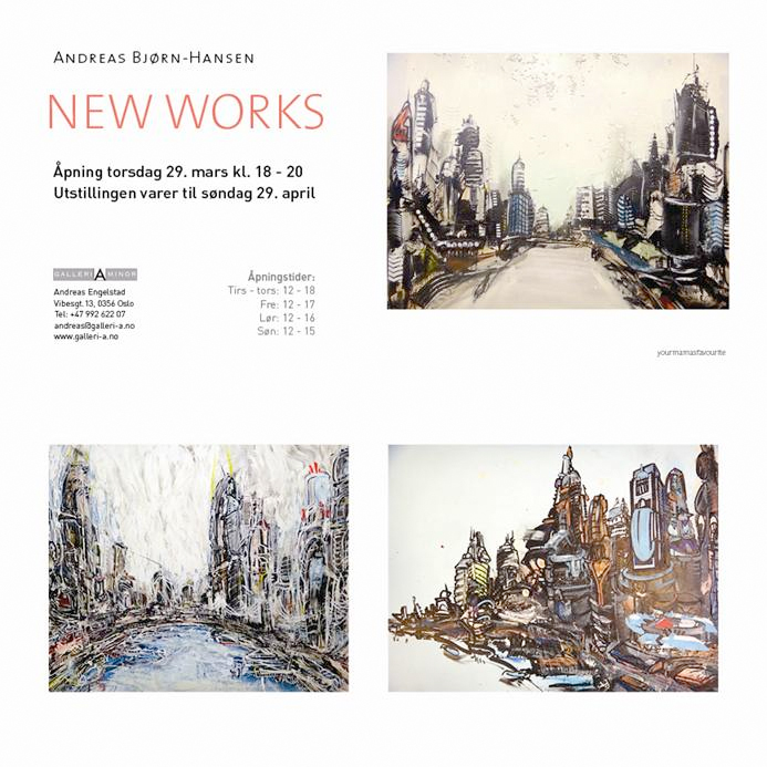 Andreas Bjørn-Hansen: NEW WORKS